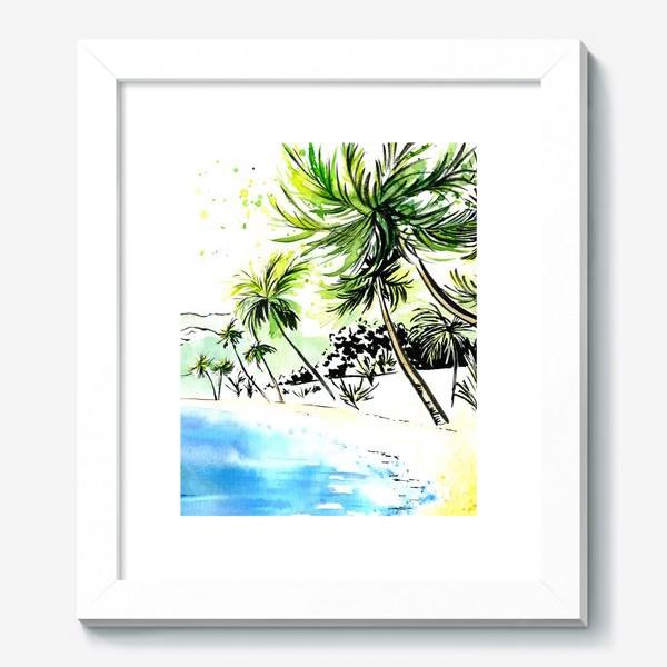 Картина «Тропический остров»