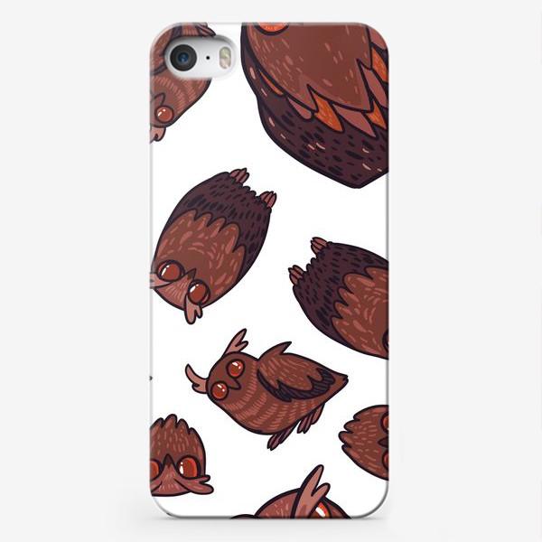 Чехол iPhone «owls»