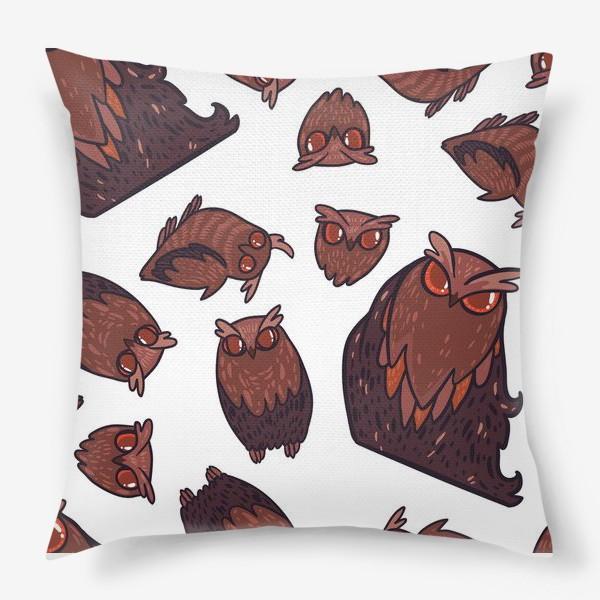 Подушка «owls»