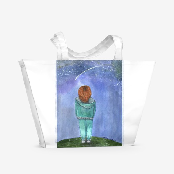 Пляжная сумка «Мечты сбываются»