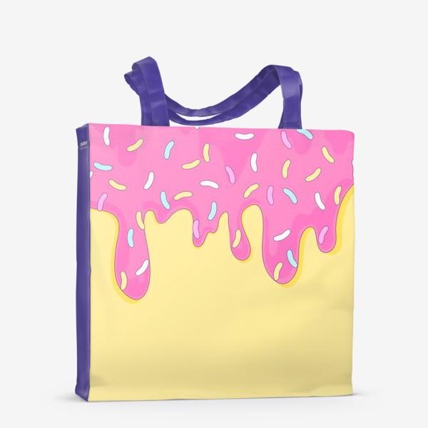 Сумка-шоппер «сладкий как пончик»