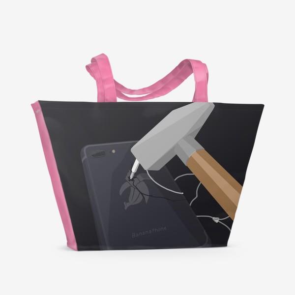 Пляжная сумка «Iphone 7»