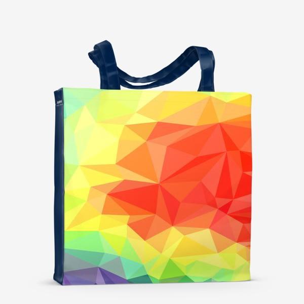Сумка-шоппер «Polygonal Rainbow »