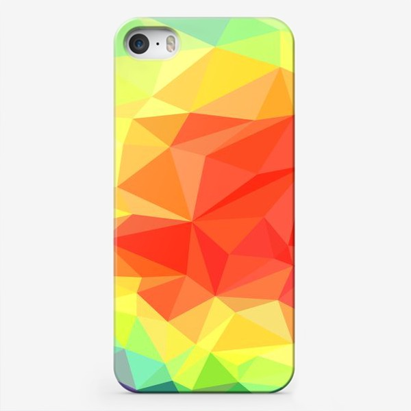 Чехол iPhone «Polygonal Rainbow »