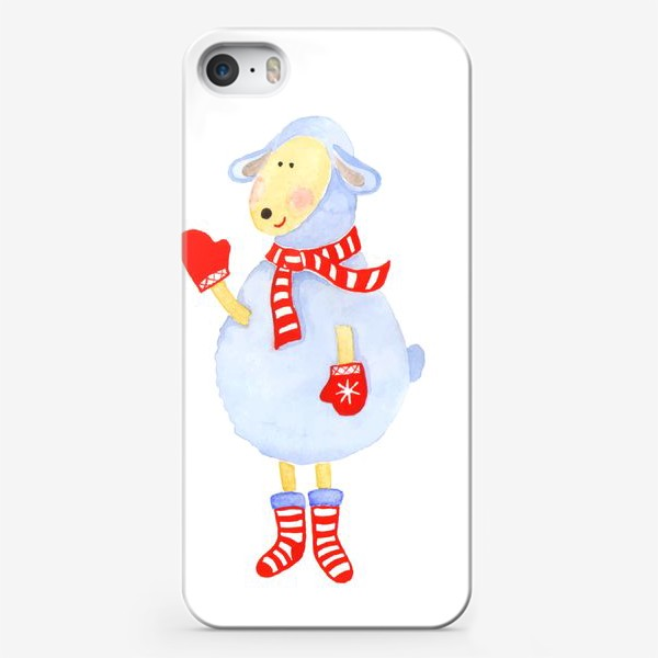 Чехол iPhone «Winter Sheep»