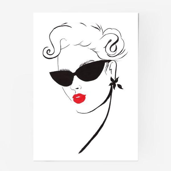Постер «Red Lips»