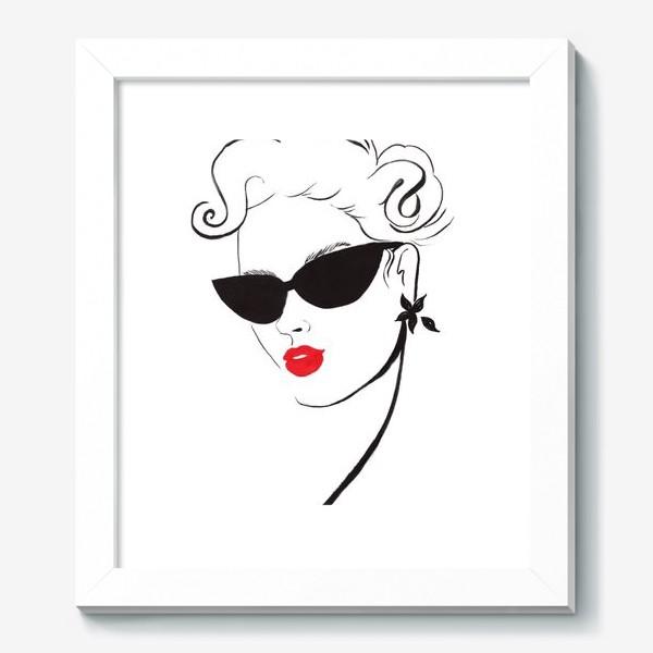 Картина «Red Lips»