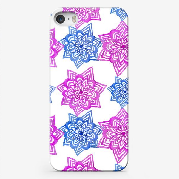 Чехол iPhone «Pink Blue»