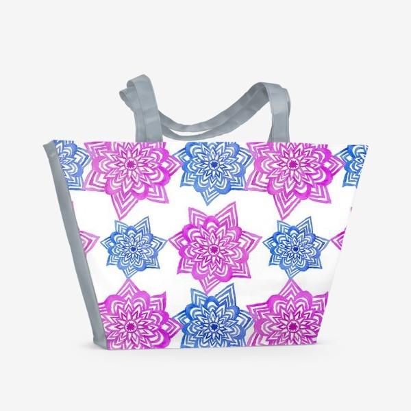 Пляжная сумка «Pink Blue»