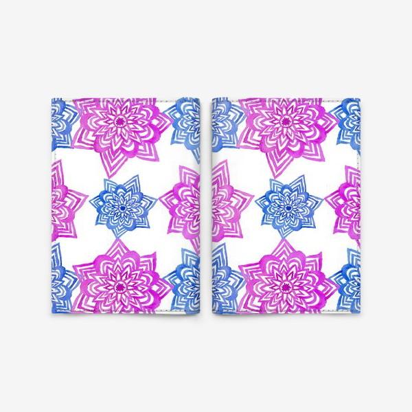 Обложка для паспорта «Pink Blue»