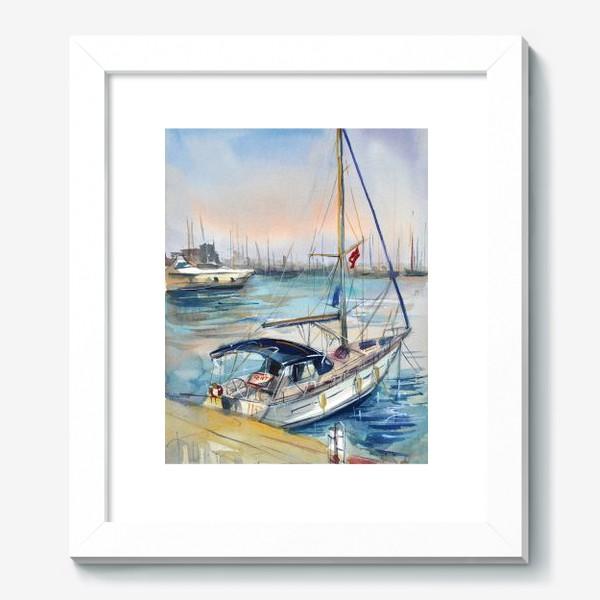 Картина «Лодка в Кемере»