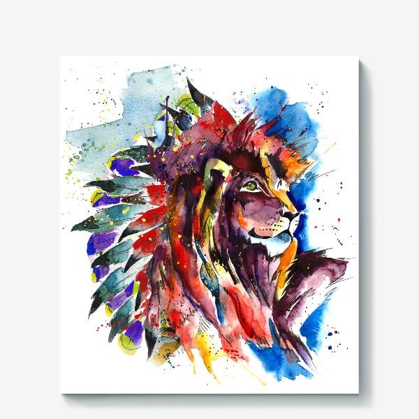 Холст «lion»