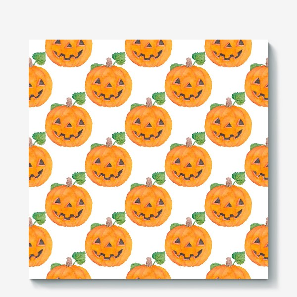 Холст «Pumpkins Pattern»