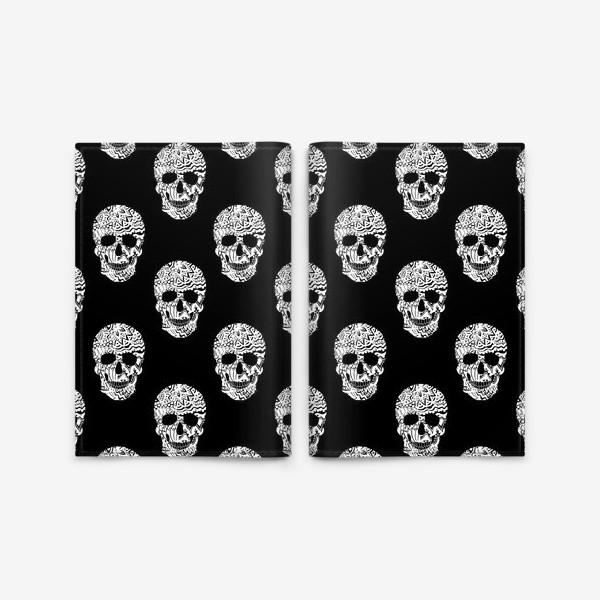 Обложка для паспорта «Little White Skulls»