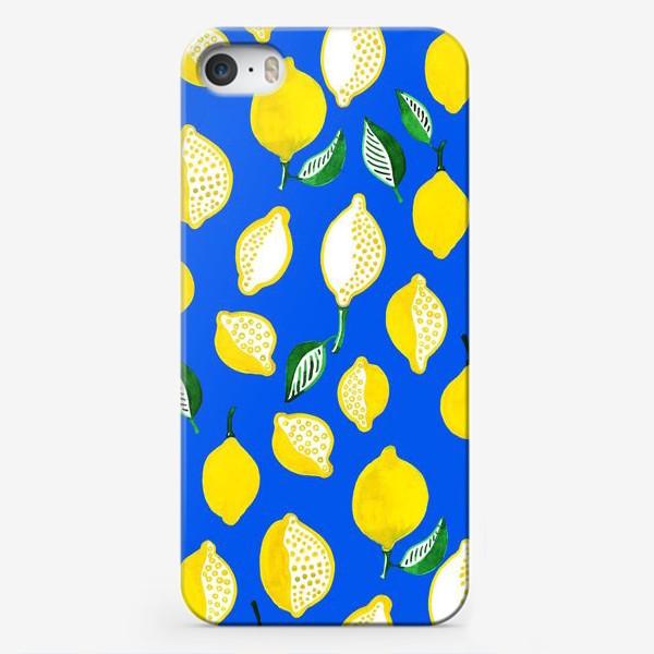 Чехол iPhone «Лимончики»