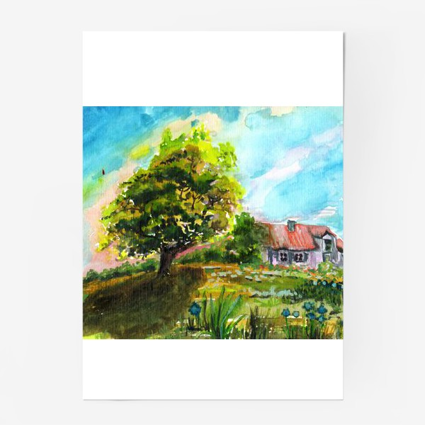 Постер «Летний Дом»