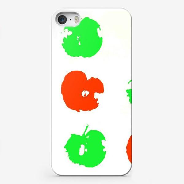 Чехол iPhone «Осень. Сбор урожая. Яблоки.»