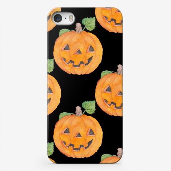 Чехол iPhone «Pumpkins»
