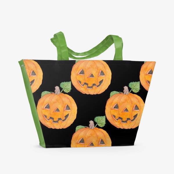 Пляжная сумка «Pumpkins»