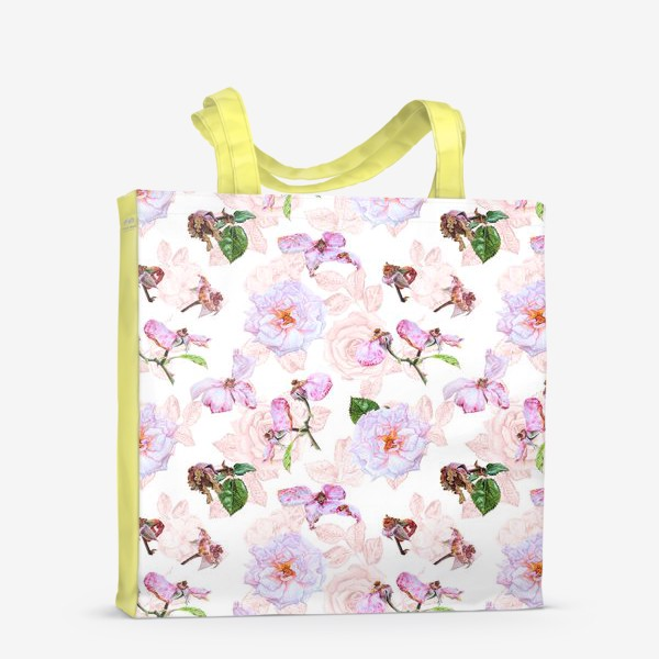 Сумка-шоппер «Розовые розы»