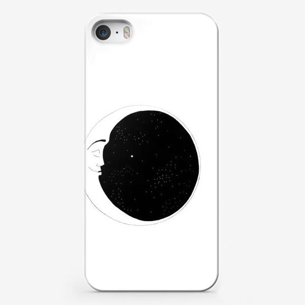 Чехол iPhone «месяц»