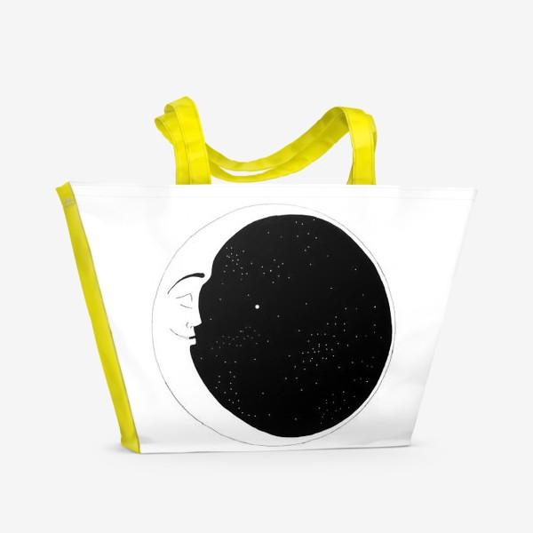 Пляжная сумка «месяц»