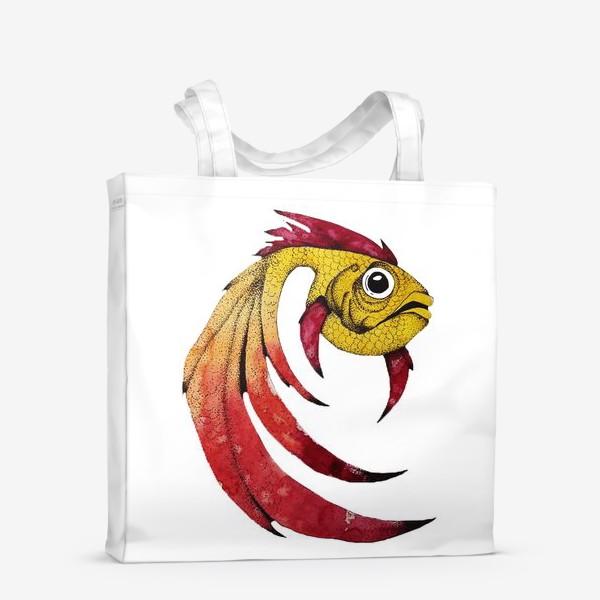 Сумка-шоппер «FISH»