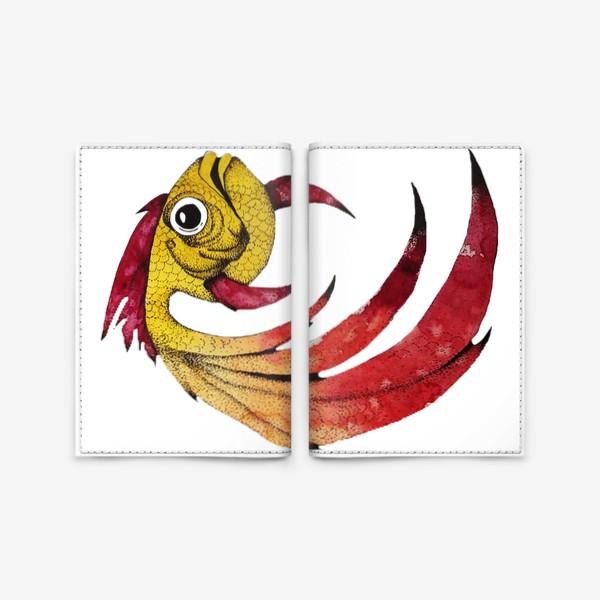 Обложка для паспорта «FISH»