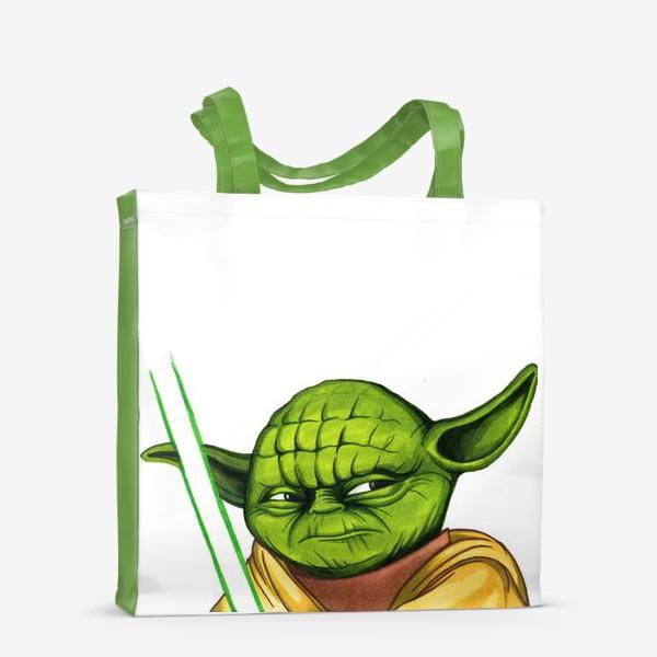 Сумка-шоппер «Магистр Йода. Star Wars»