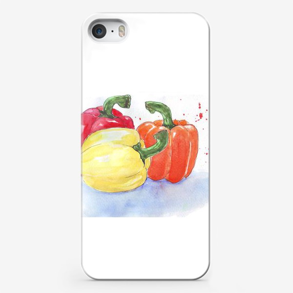 Чехол iPhone «Яркие перцы»