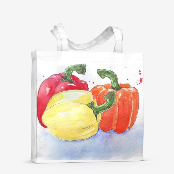Сумка-шоппер «Яркие перцы»
