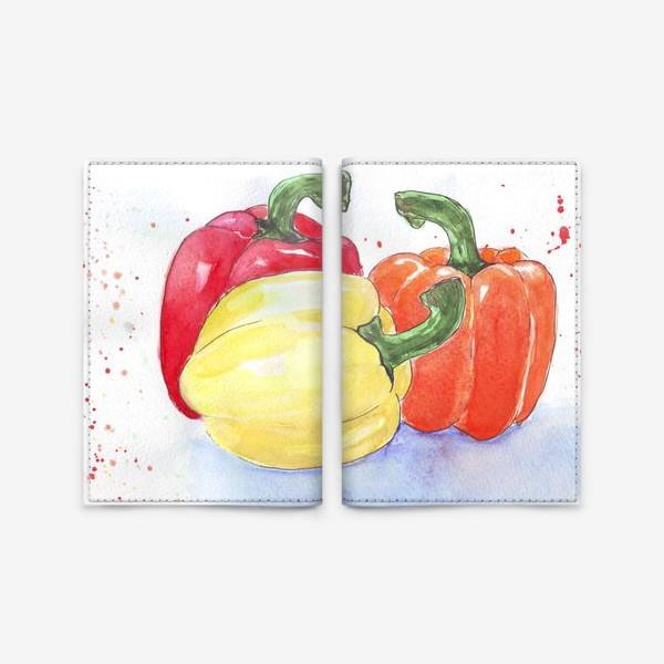 Обложка для паспорта «Яркие перцы»