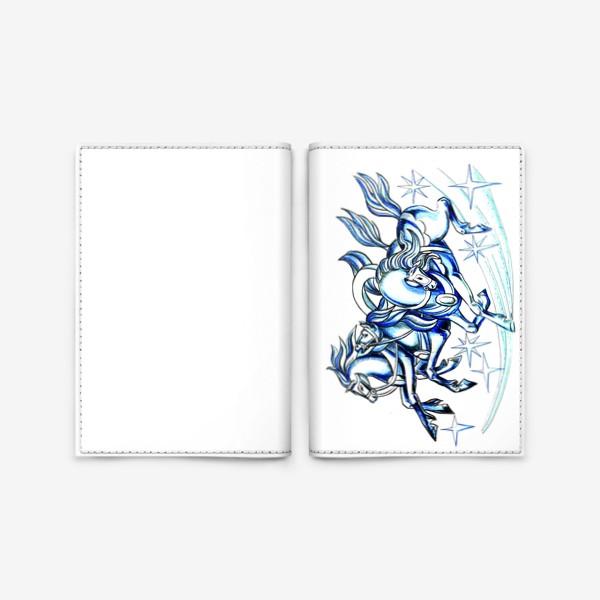 Обложка для паспорта «Тройка »