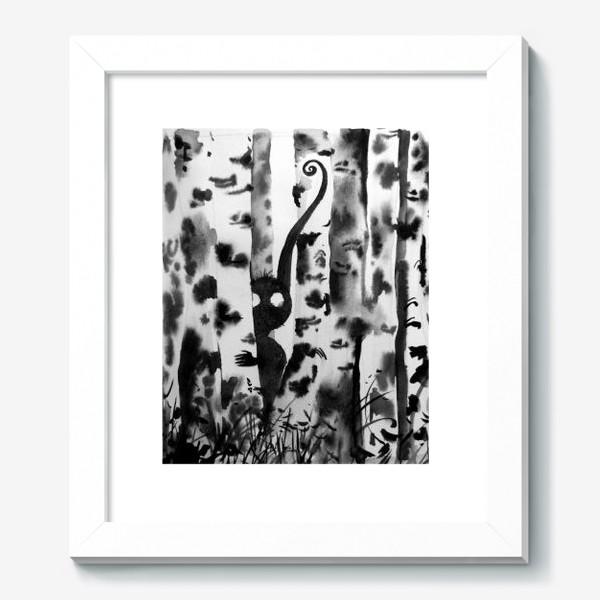 Картина «Лесной дух в березках»