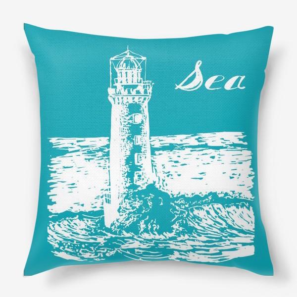 Подушка «Морские мечты»