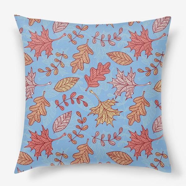 Подушка «Осенний вальс»