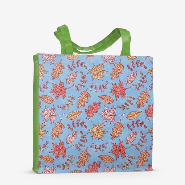 Сумка-шоппер «Осенний вальс»