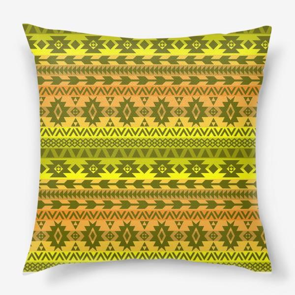 Подушка «этнический орнамент»
