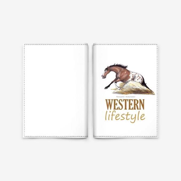 Обложка для паспорта «WESTERN LIFESTYLE. ВЕСТЕРН»