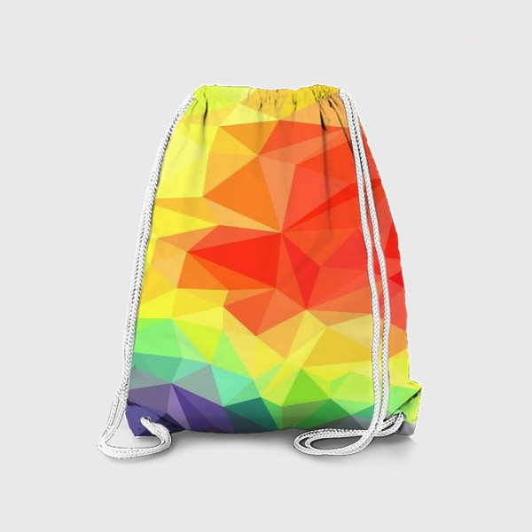 Рюкзак «Polygonal Rainbow »