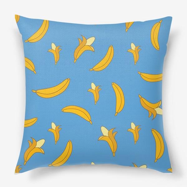 Подушка «Яркие бананы»