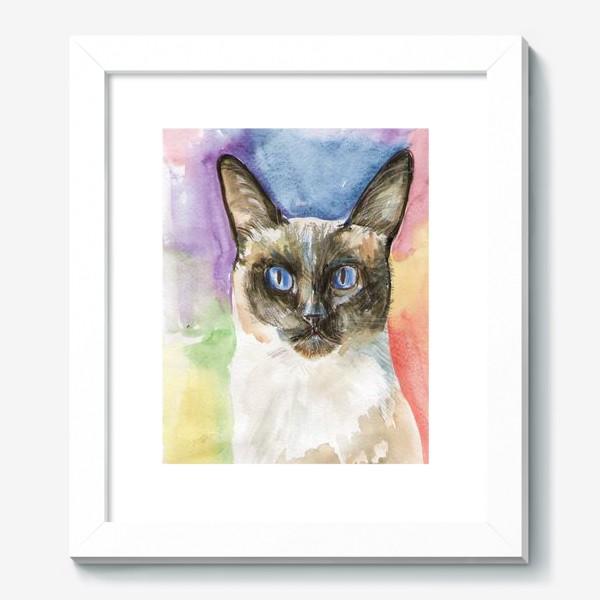 Картина «Тайский котик»