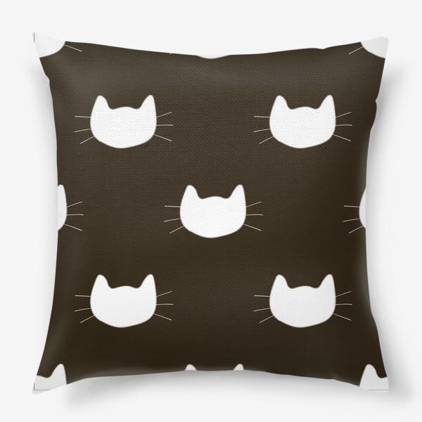 Подушка «Pattern Cat»