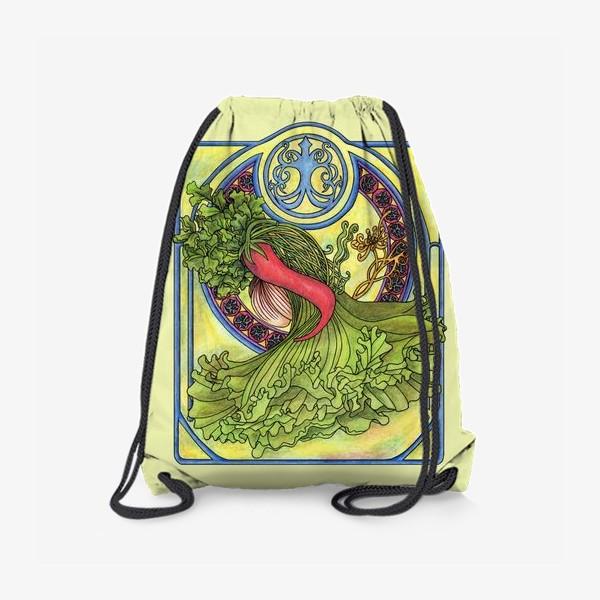 Рюкзак «Специи и овощи 2  Модерн Ар нуво»