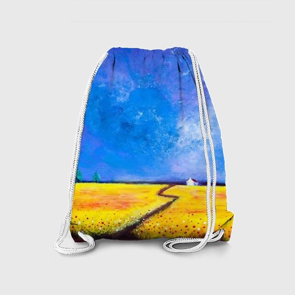 Рюкзак «Маки перед дождем»