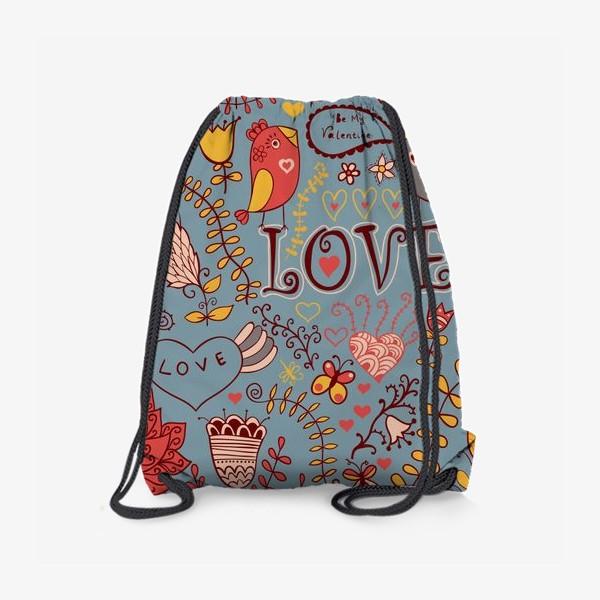 Рюкзак «Love паттерн»