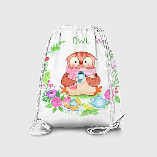 Рюкзак «Совушкино чаепитие»