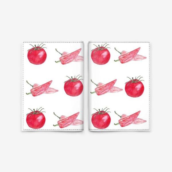 Обложка для паспорта «овощное танго»