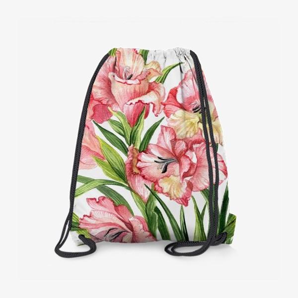 Рюкзак «Гладиолусы»