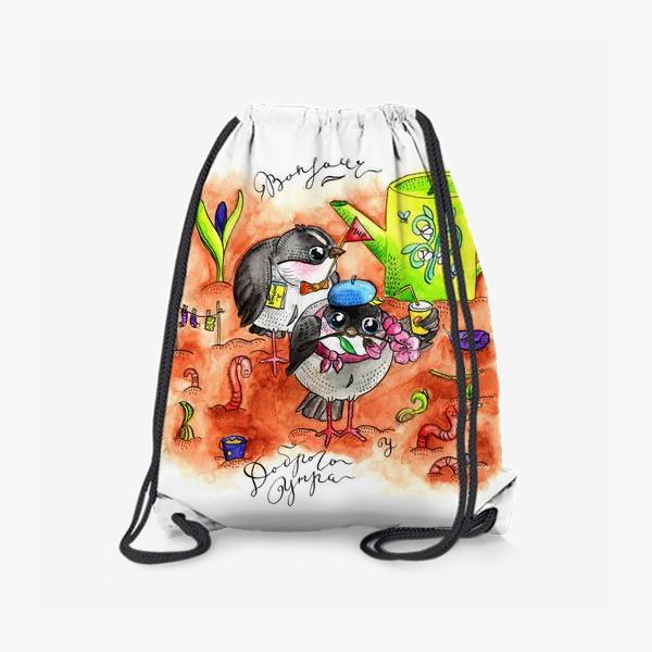 Рюкзак «Синички и первомай»